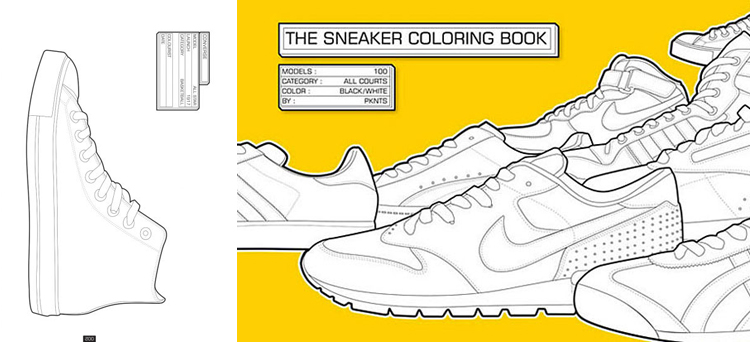 Indie Rock Coloring Book 10 My Wonderful World Of Fahion A For Drawing Creating And Dreaming 12 The Sneaker Colouring