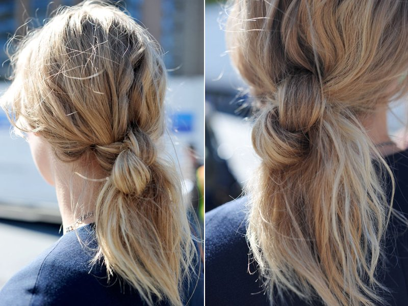 Peachy Double Knot Short Hairstyles Gunalazisus