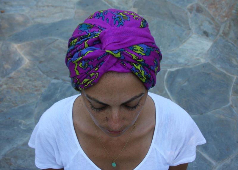 Twist Turban Headband Tutorial