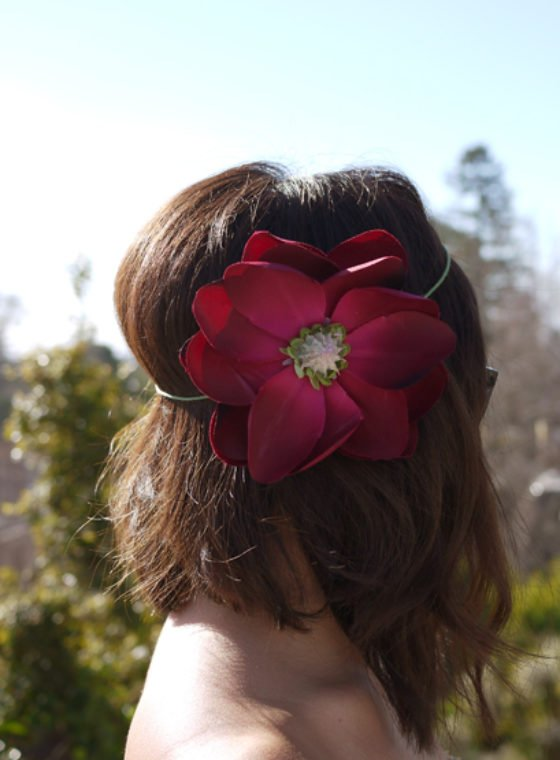 DIY Flower Halo