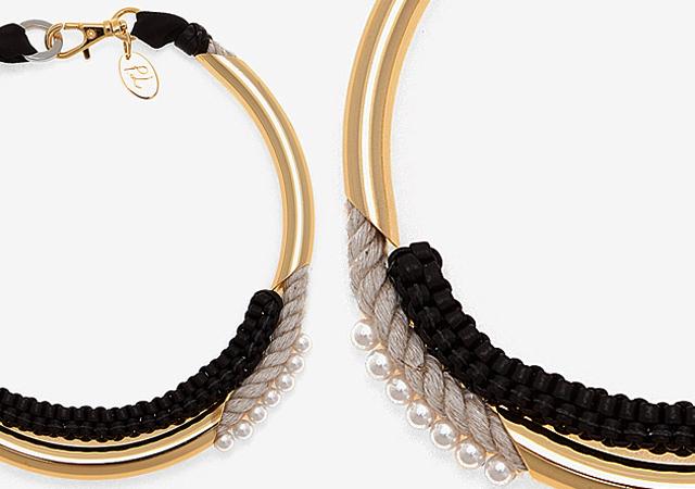 DIY Box Braid Necklace - Diy braided necklace