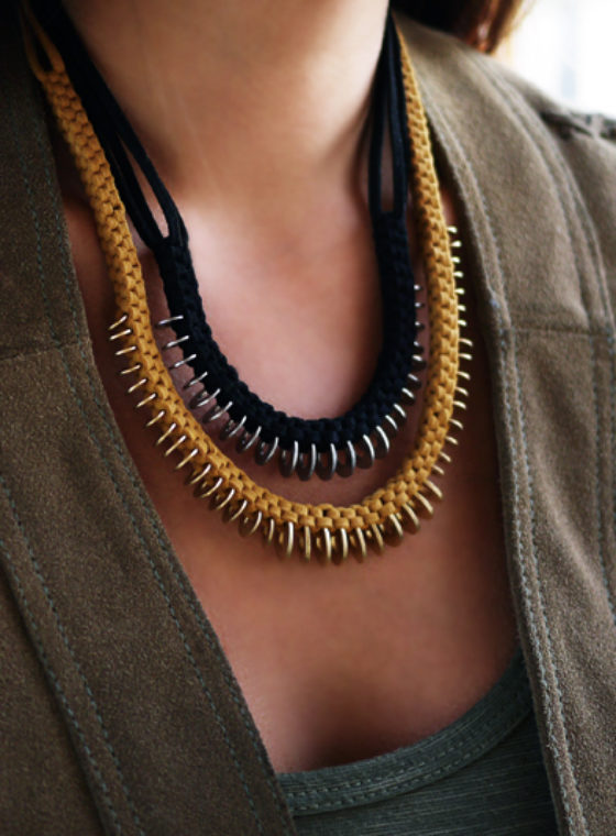 DIY Box Braid Necklace