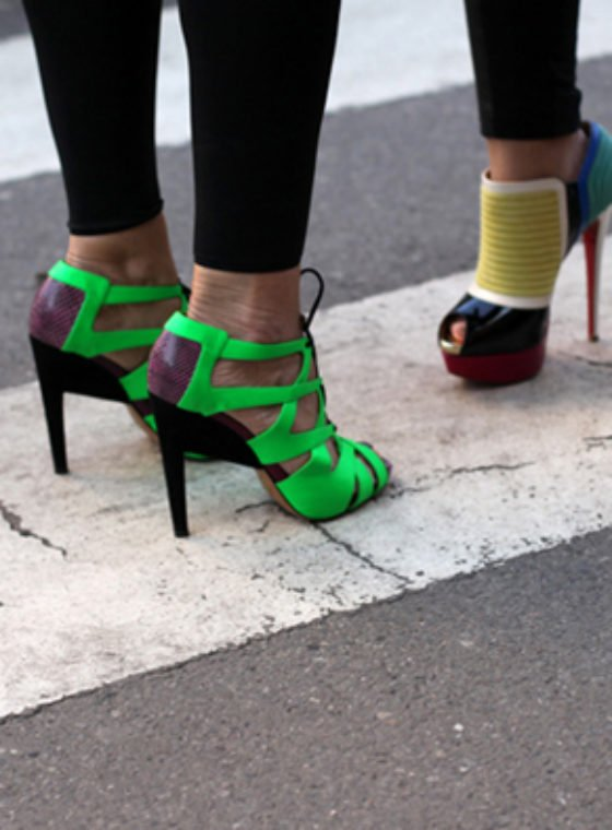 Spotted #Neon #PFW