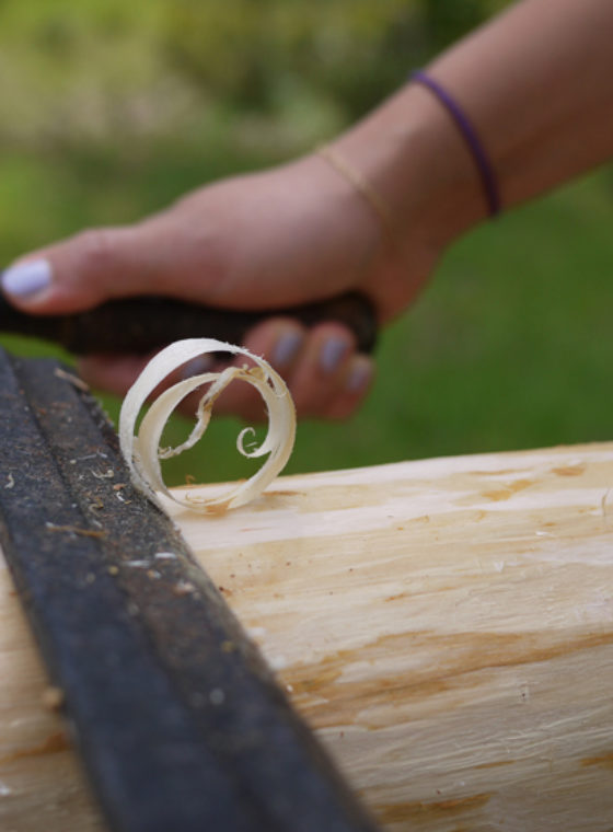 DIY Tepee Poles