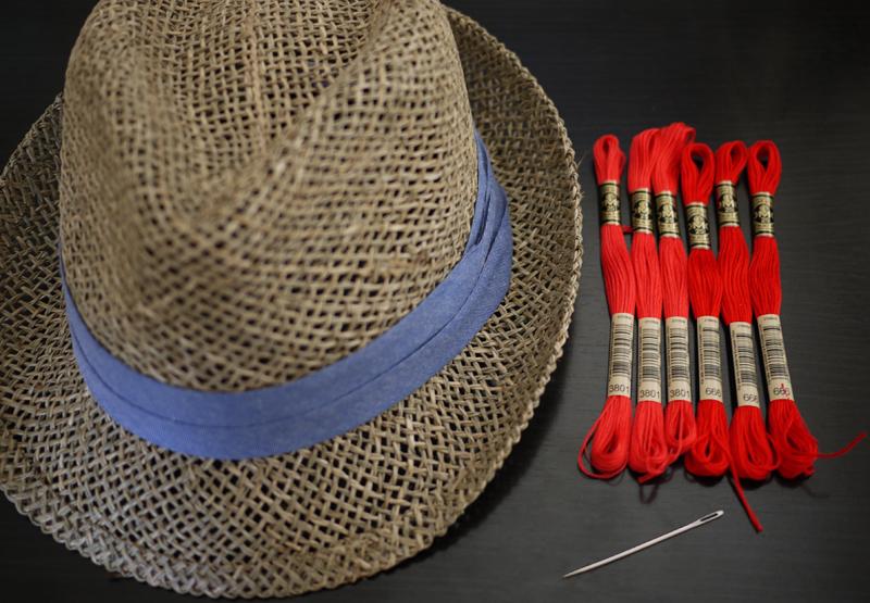DIY Stitched Hat