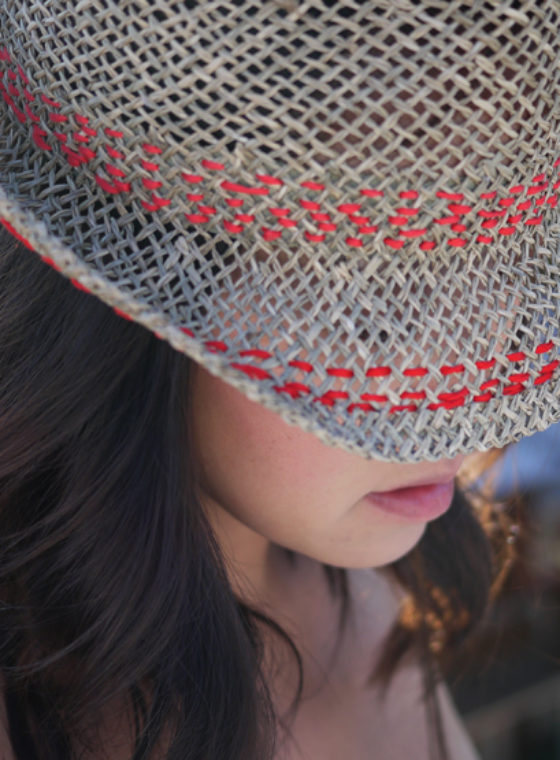 DIY Stitched Hat
