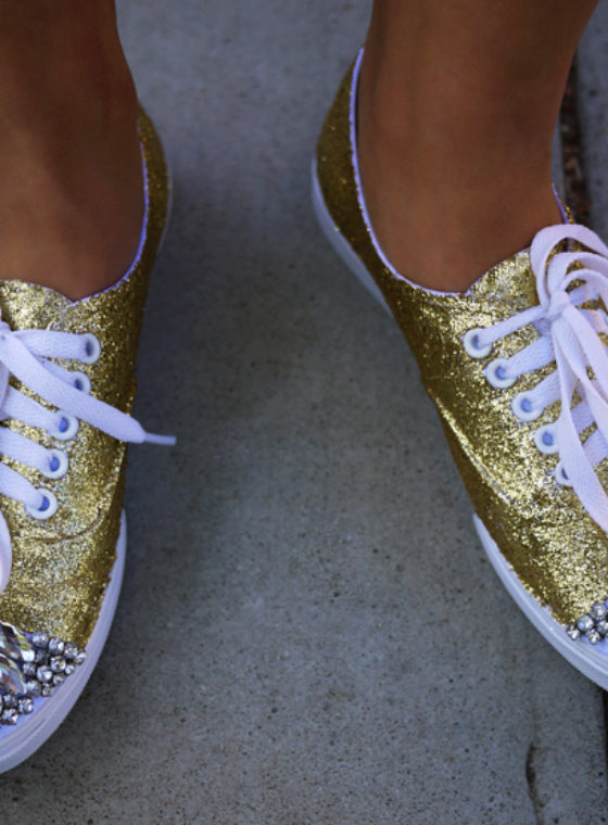 DIY Miu Miu Sneakers