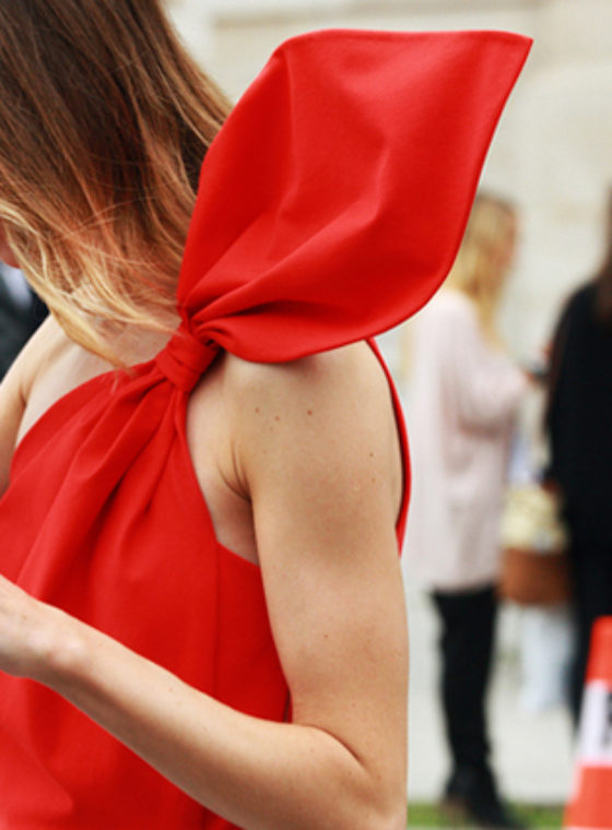 Spotted #LadiesInRed #PFW