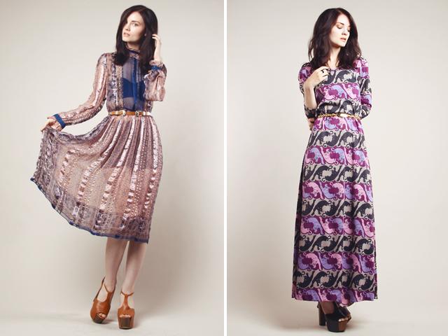 Thrifted modern vintage dresses 68 295