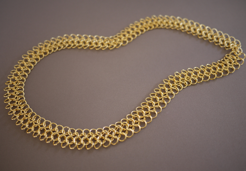 DIY Chainmail Necklace Honestly WTF