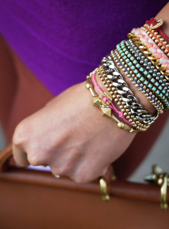 DIY Braided Bead Bracelet