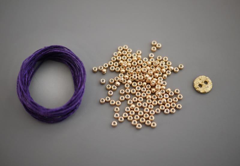 Do It Yourself Jewelry: DIY Braided Bead Bracelet