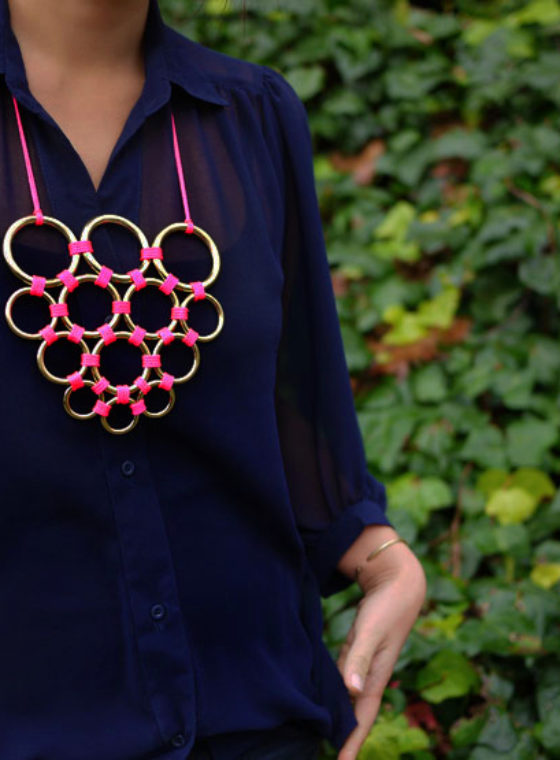 DIY Gretchen Jones Necklace