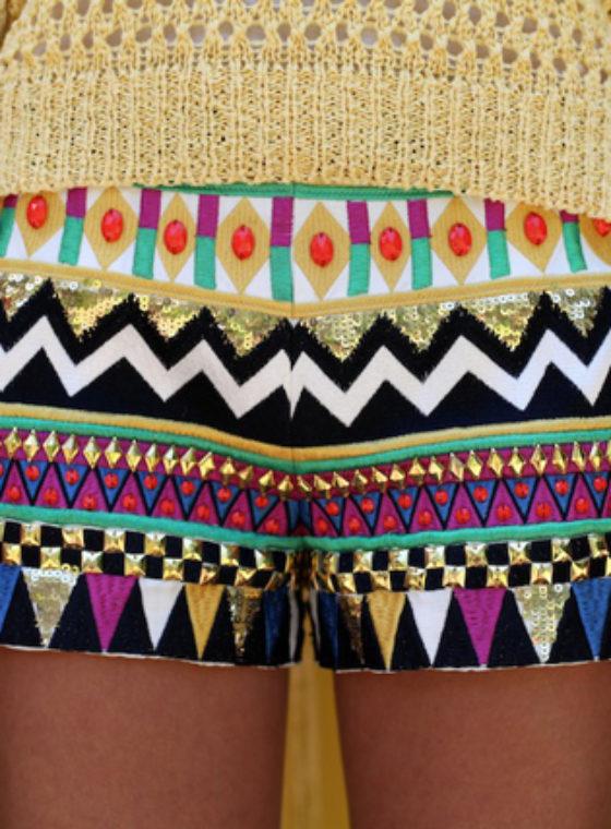 Technicolor Shorts