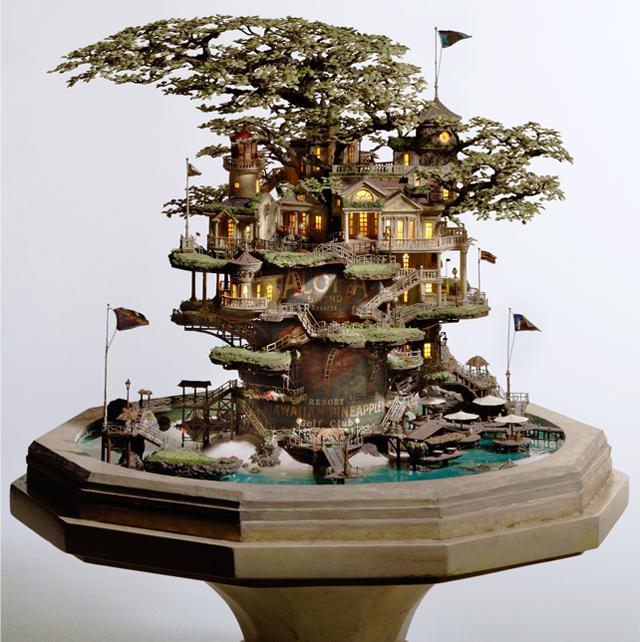 Bonsay Treehouse by Takanori Aiba