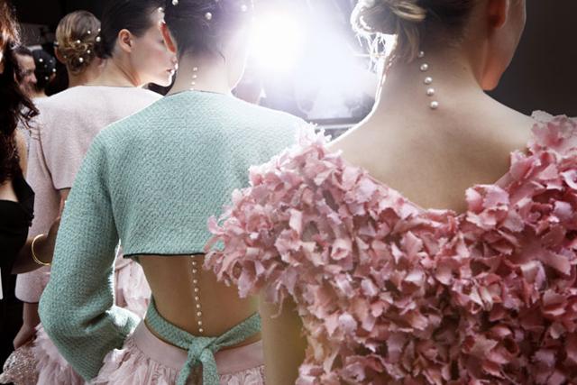 nikki pearls dress