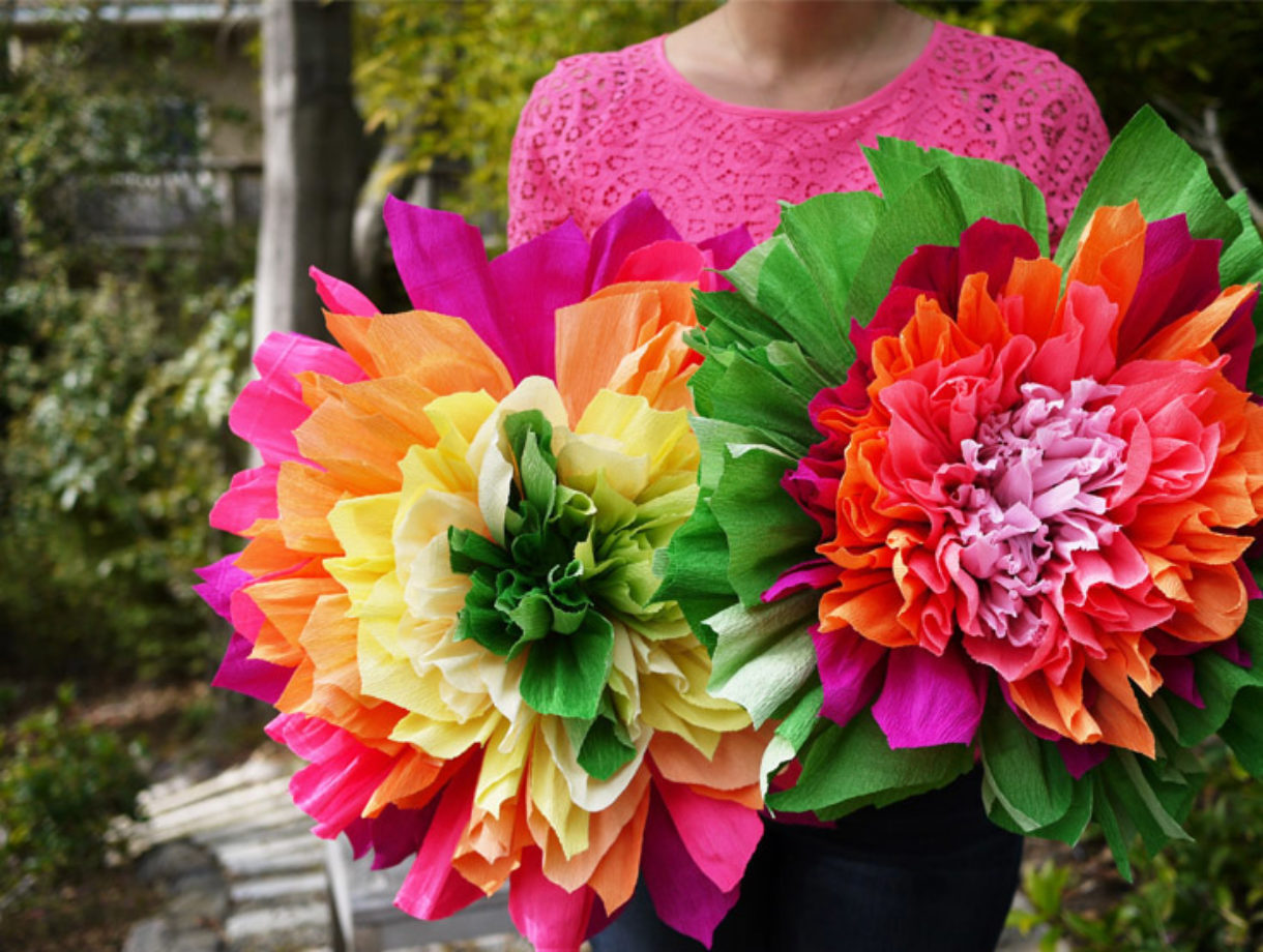 Diy crepe paper flowers honestly wtf mightylinksfo