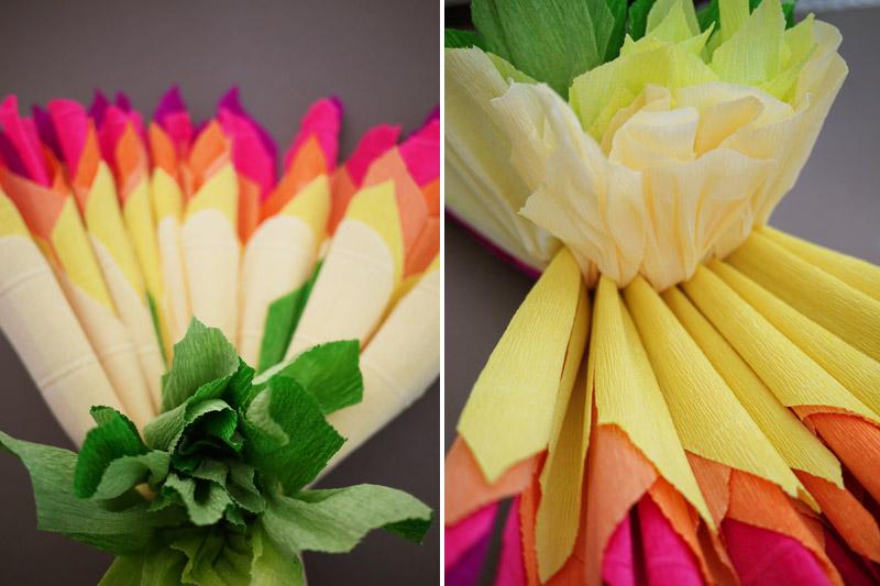 Мастер класс цветы из бумаги своими руками гофрированной бумаги своими руками