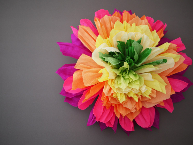 Diy Crepe Paper Flowers Honestly Wtf