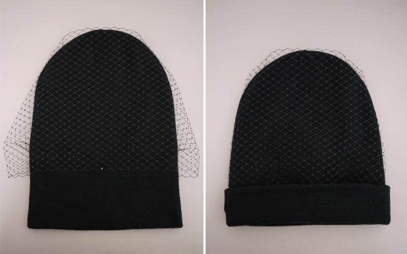 DIY Jil Sander Veiled Beanie – Honestly WTF 03dc5bdc165b