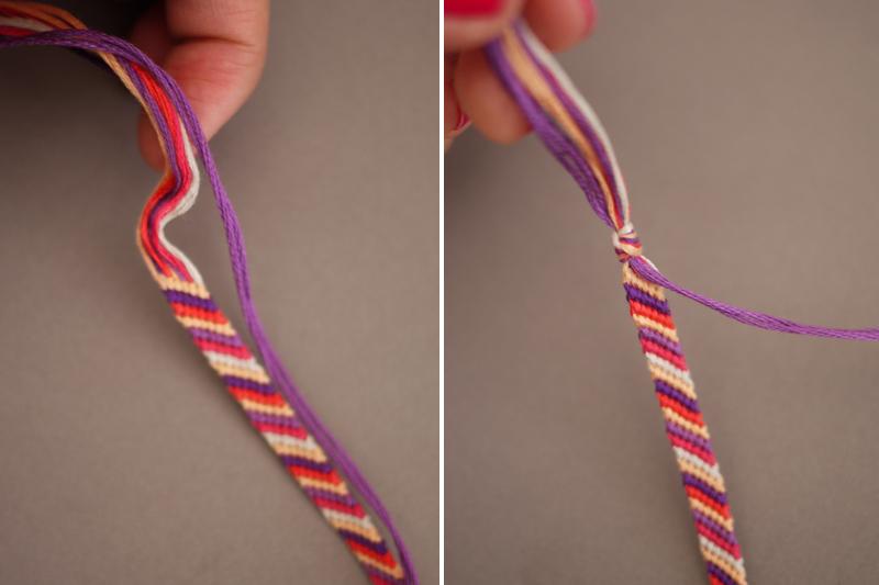 Как сделать фенечки из ниток своими руками