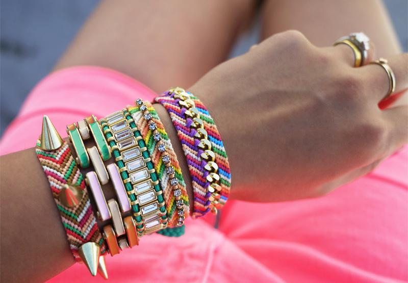a43e49888d111 DIY Embellished Friendship Bracelets – Honestly WTF