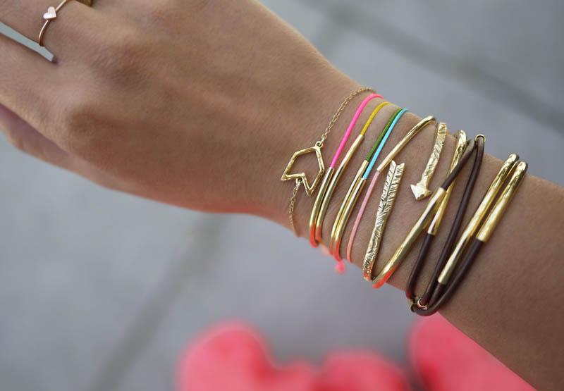 DIY Gold Tube Bracelets – Honestly WTF