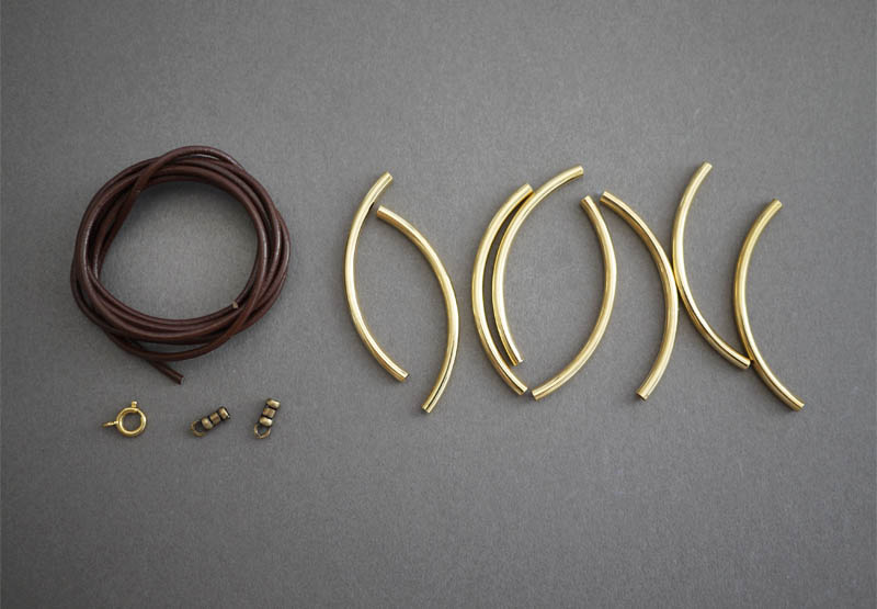 Diy Gold Tube Bracelets Honestly Wtf