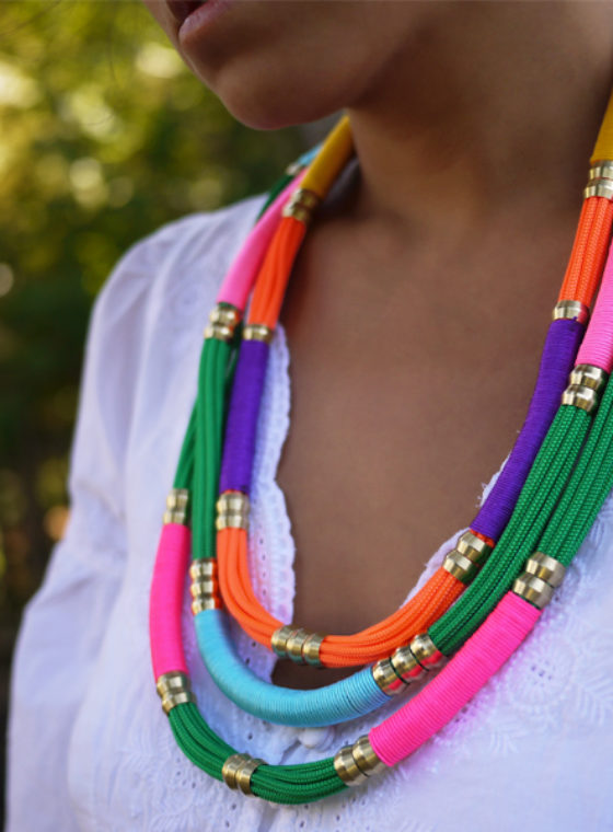 DIY Utility Rope Necklace