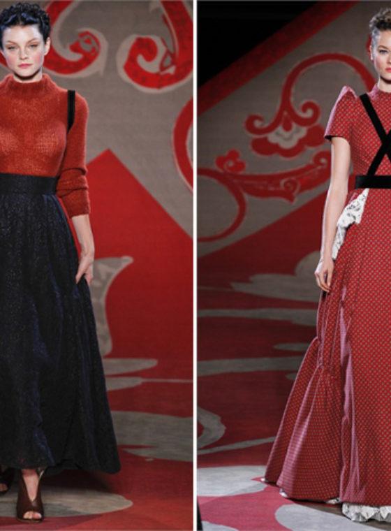 Ulyana Sergeenko Fall Couture 2012