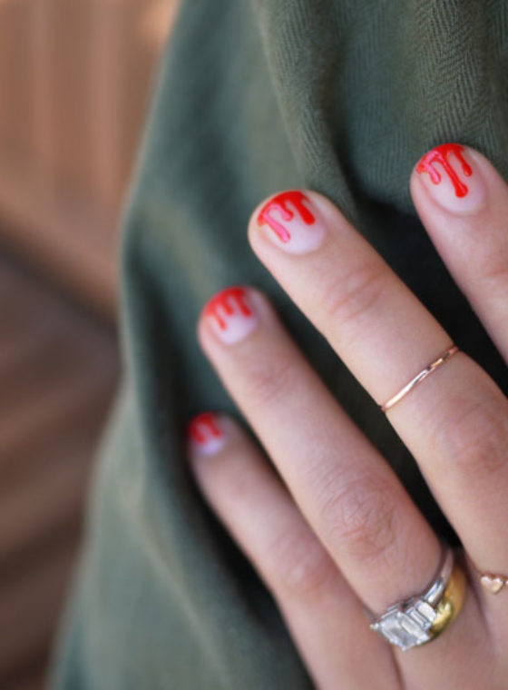 DIY Drippy Nails