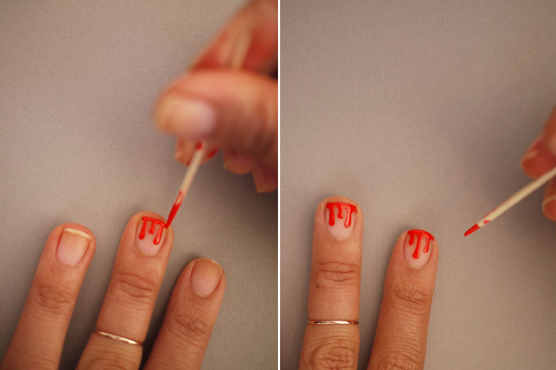 Diy drippy nails repeat prinsesfo Choice Image