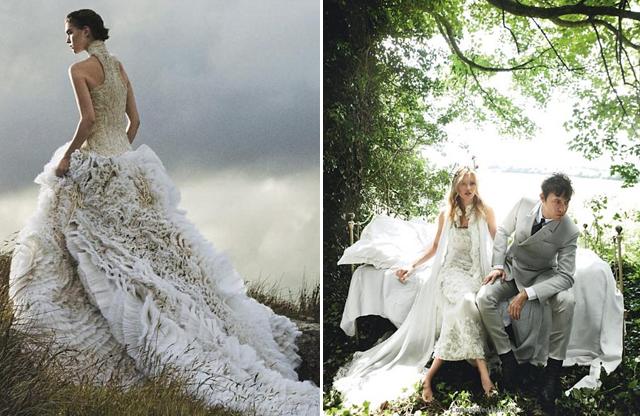 Wedding Gown Patterns Vogue 36 Nice  Vogue Weddings Brides