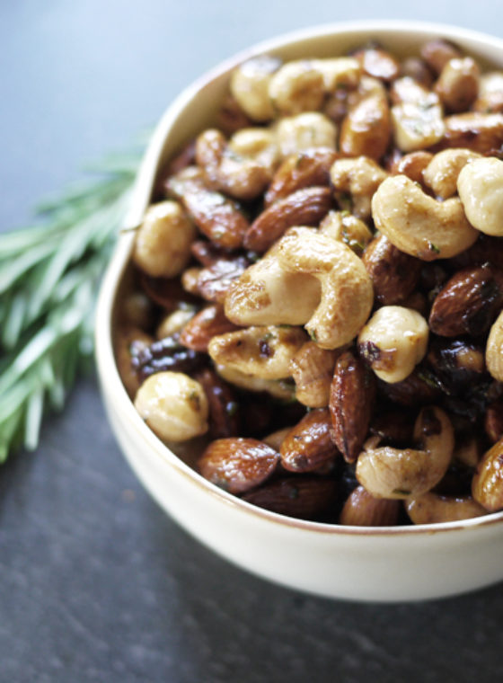 DIY Spiced Nuts