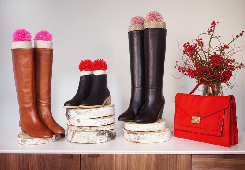 Diy boot stuffers with loeffler randall we can finally keep all those boots standing tall and tidy in our closets these delightful boot stuffers are actually quite simple to assemble and would solutioingenieria Images