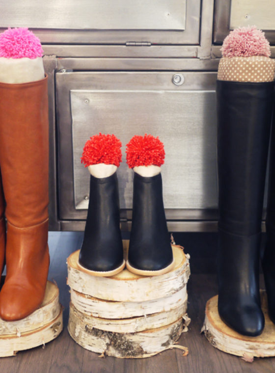 DIY Boot Stuffers with Loeffler Randall