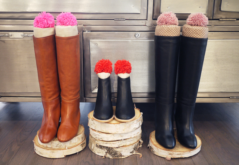 Diy boot stuffers with loeffler randall boots from left to right matilde flat boot felix bootie sofie wedge boot all images by honestlywtf tutorial courtesy of jessie randall solutioingenieria Images