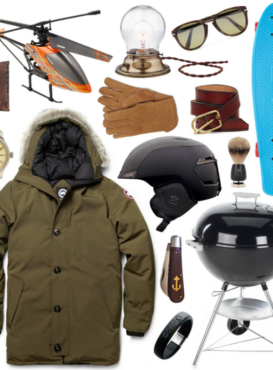 Gift Guide 2012: For The Dudes