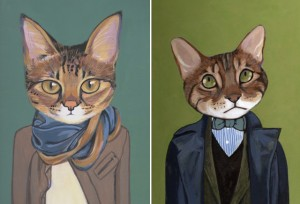 cats in clothes 2