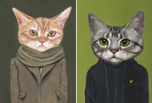 cats in clothes 4