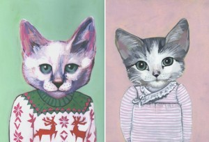 cats in clothes 5