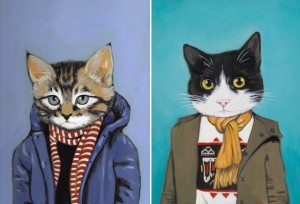 cats in clothes 6