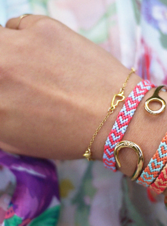 DIY Heart Friendship Bracelet