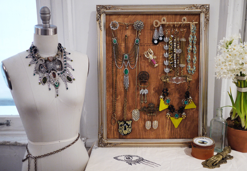 Diy jewelry display with lulu frost honestly wtf for Jewelry displays