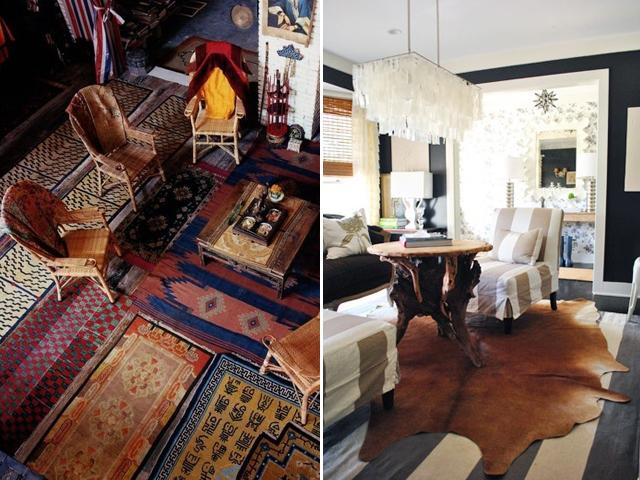 layered rugs 10
