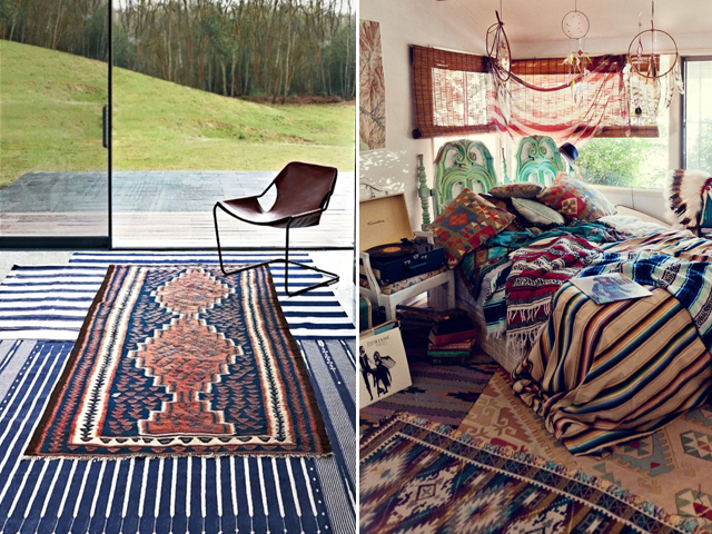 layered rugs 9
