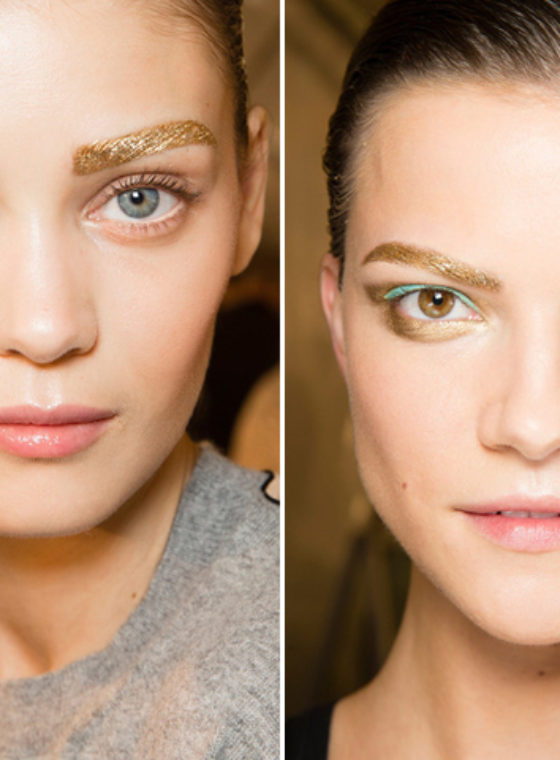 Brows + Buns = Dior