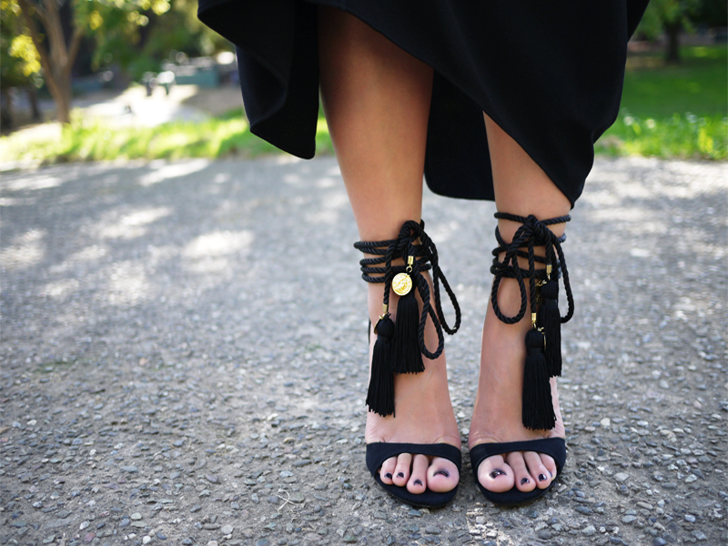 24bfdd5ea3920 DIY Tassel Sandals – Honestly WTF