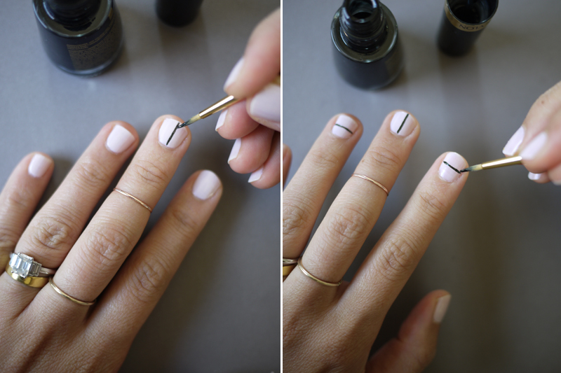 Drawing Lines On Nails : Diy tibi nail art honestly wtf