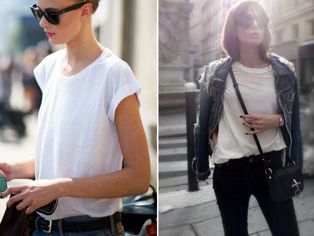 white T-shirt 11